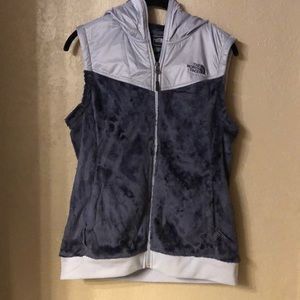 The North Face Blue Gray Vest